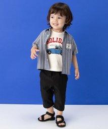 petit main/ブルちゃんパッチシャツ/501122059