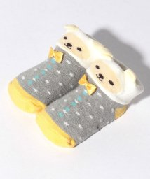 petit main/リボンおめかし動物カップソックス/501122066