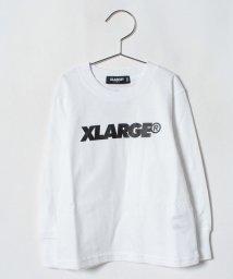 XLARGE KIDS/ロゴ入りTシャツ/501122100