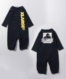 XLARGE KIDS/ロゴOGゴリラ2WAYオール/501122101