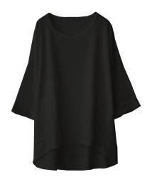 SocialGIRL/ワッフルドルマンTシャツ/501135234