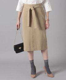 beautiful people/ponte jersey back tuck skirt/500884974