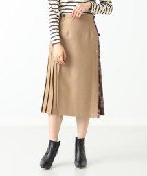 Demi-Luxe BEAMS/O'NEIL OF DUBLIN / ソリッドパネル キルトスカート/500909166