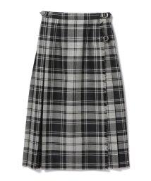 BEAMS OUTLET/O'NEIL OF DUBLIN / タータンチェック キルトスカート/500909167