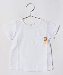 LAGOM/アニマルポケットTシャツ/501110058