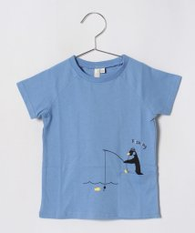 LAGOM/[抗菌防臭]ペンギンプリントTシャツ/501110060