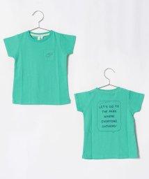 LAGOM/[抗菌防臭]バックプリントTシャツ/501110061