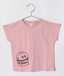 LAGOM/[抗菌防臭]プリントドルマンTシャツ/501110062