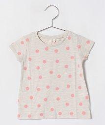 LAGOM/[抗菌防臭]ランダムドットTシャツ/501110063