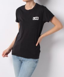 LEVI'S LADY/L8 TEE LN8 BLOCK JET BLACK WASH GRAPHIC/501124889