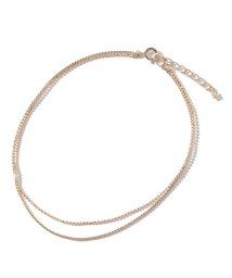 Gready Brilliant/2 chain anklet アンクレット/501127587
