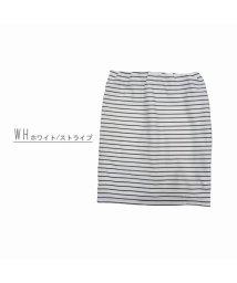 Private Beach/リップルペンシルショートスカート【ウエストゴム】/501135474