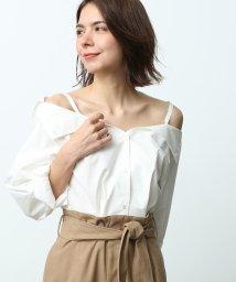 ROPE' mademoiselle/【3WAY】タイプライターシャツ/501136926