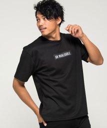 CavariA/CavariA【キャバリア】ビッグシルエットボックスロゴバック英字プリントクルーネック半袖Tシャツ/501137120