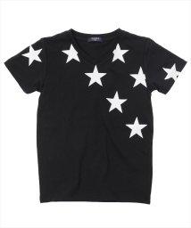 GLAZOS/吸水速乾スタープリント半袖Tシャツ/501137406