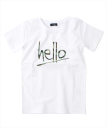 GLAZOS/helloカモフラプリント半袖Tシャツ/501137408
