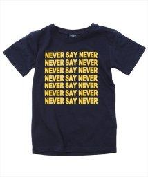 GLAZOS/NEVER SAY NEVER半袖Tシャツ/501137410