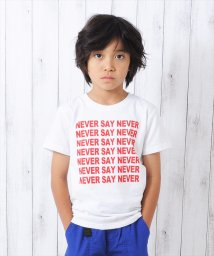 GLAZOS/NEVER SAY NEVER半袖Tシャツ/501137410