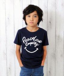 GLAZOS/スマイルデザイン半袖Tシャツ/501137411
