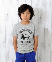 GLAZOS/バッファローデザイン半袖Tシャツ/501137412