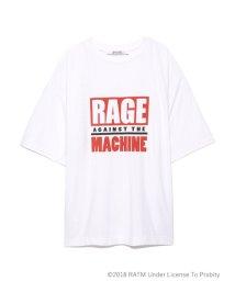 SNIDEL/RAGEコラボロゴTシャツ/501137433