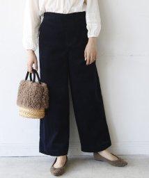 coen/【新色追加】コーデュロイワイドパンツ/501137926