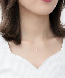 Phoebe/【K10】クロススターダイヤモンドネックレス/500797732