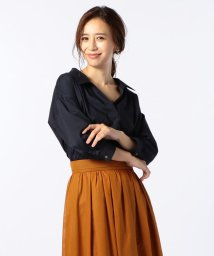 NOLLEY'S/[新色追加]麻混スキッパーシャツ/501128228