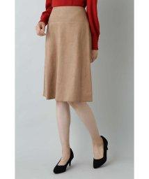 NATURAL BEAUTY BASIC/|美人百花 10月号掲載|フェイクスエードスカート/501136121