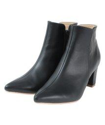 titivate/ポインテッドトゥ7cmヒールショート丈ブーツ/501138533