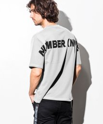 NUMBER (N)INE DENIM/NUMBER (N)INE DENIM(ナンバーナインデニム) サイドテープ付バックロゴビッグTシャツ/501139131
