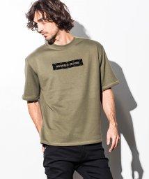 NUMBER (N)INE DENIM/NUMBER (N)INE DENIM(ナンバーナインデニム) サイドテープ付フロントロゴビッグTシャツ/501139132