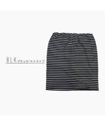 Private Beach/リップルペンシルショートスカート【ウエストゴム】/501139192