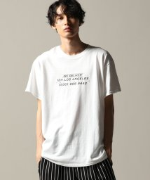 JOURNAL STANDARD/THE YOUTHLESS WE DELIVER FRONT PRINT Tシャツ/501140552