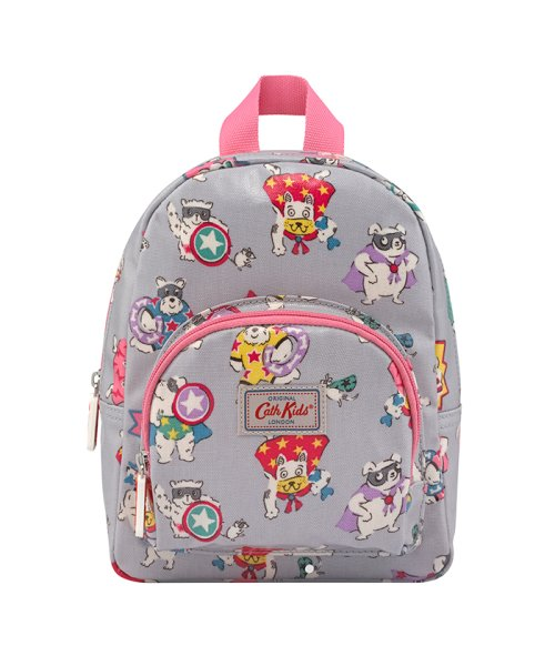 Cath Kidston(Kids)(キャスキッドソン(キッズ))/キッズ ミニリュックサック ウィズ チェストストラップ スーパードッグ/796910