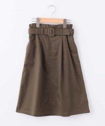 a.v.v(KID'S)/[100-130]ベルト付きミディ丈スカート[WEB限定サイズ]/501091353
