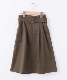a.v.v(KID'S)/[140-150]ベルト付きミディ丈スカート/501091354