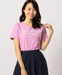 MISCH MASCH/ロゴプリントTシャツ/501098810