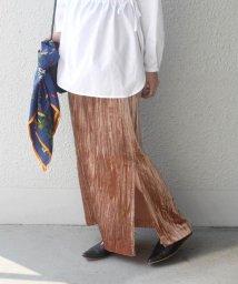 SHIPS WOMEN/Prefer SHIPS:ベルベットスカート◇/501122942
