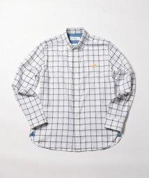 NOLLEY'S goodman/【新色追加】クジラ刺繍BDシャツ/501133747