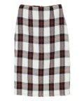 titivate/フェイクツイードチェックタイトスカート/501140876