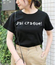 SLOBE IENA/jai craqur ロゴTシャツ◆/501143275