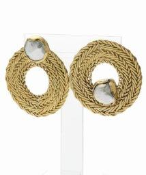 NOBLE/【STVDIO】Pearl circle earrings/501143863