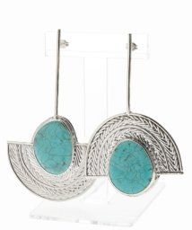 NOBLE/【STVDIO】 turq earring/501143865