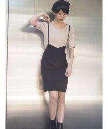 MURUA/ナローベルトジャンパースカート/501100558