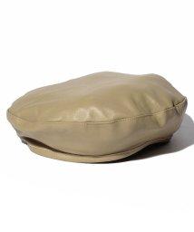 en recre/【CASSELINI】レザーベレー帽/501134247