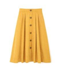 PROPORTION BODY DRESSING/《BLANCHIC》ライトスエードミディフレアスカート/501140726