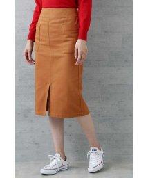 NATURAL BEAUTY BASIC/|VERY・美人百花 10月号掲載|〈ウォッシャブル〉チノトレートスカート/501136123