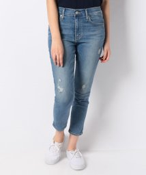 LEVI'S LADY/721 ASIA HR SKINNY ANKLE BLOCK PARTY JAM/501124902