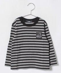 XLARGE KIDS/OGゴリラボーダーTシャツ/501136370